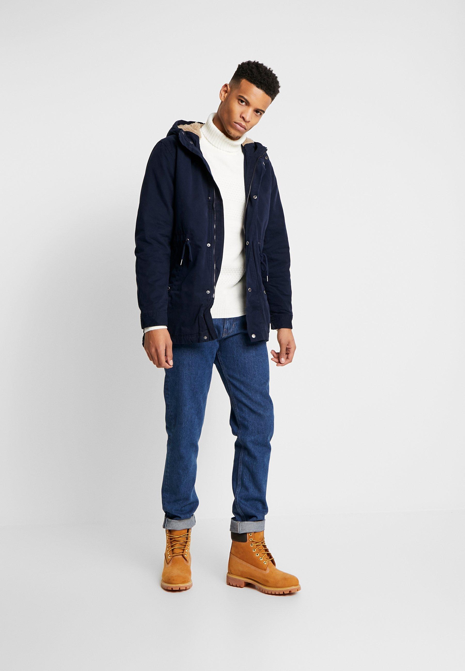 Cotton On Military Jacket - Parka Navy