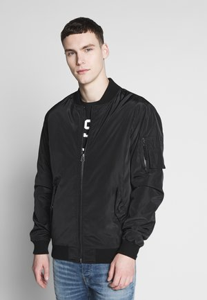 AIRFORCE JACKET - Bomberjacka - black
