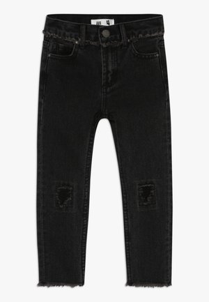 SAMMY SLOUCH JEAN - Džíny Relaxed Fit - black