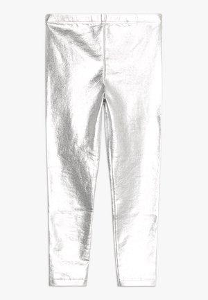 KIDS HUGGIE TIGHTS - Leggings - silver metallic