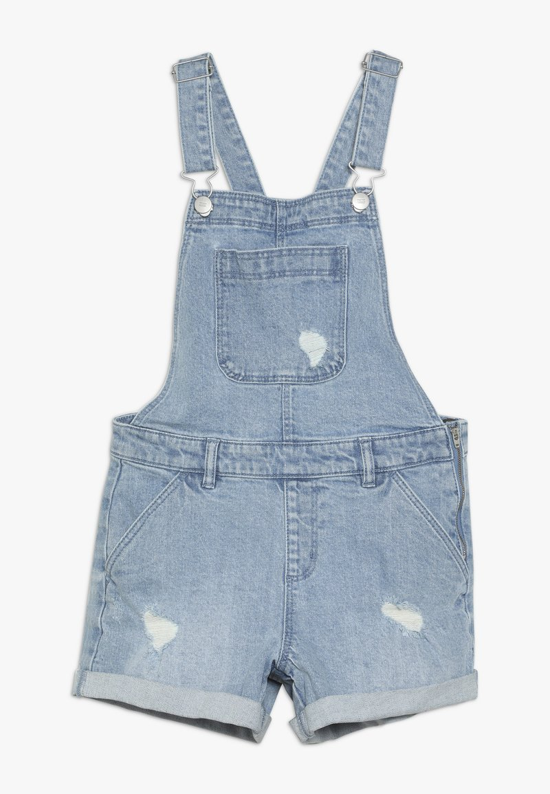 Cotton On - TEENS SHORTALL - Dungarees - mid indigo