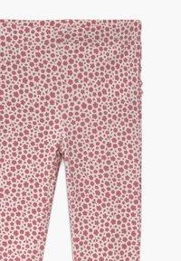 Cotton On - QUINN RUFFLE 2 PACK  - Legging - dark vanilla maude/very berry - 4