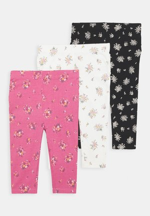 RUFFLE 3 PACK - Leggings - Trousers - multicolor