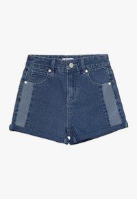 Cotton On - TEEN GIRLS - Shorts vaqueros - indigo - 0