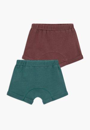 SAWYER 2 PACK  - Kalhoty - vintage berry/aqua dream