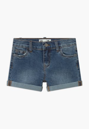 CAMILLA - Jeans Shorts - blue denim