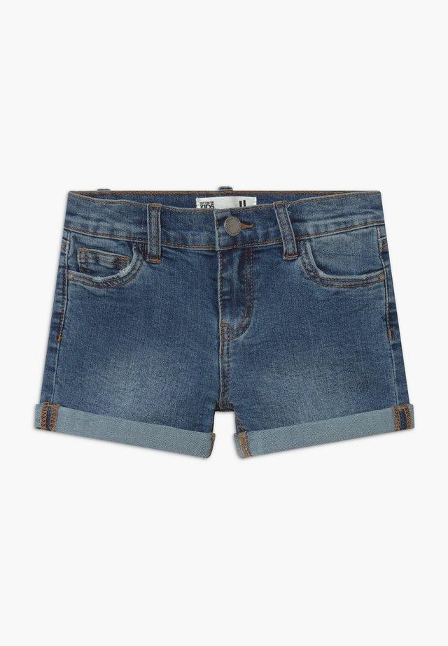 CAMILLA - Denim shorts - blue denim