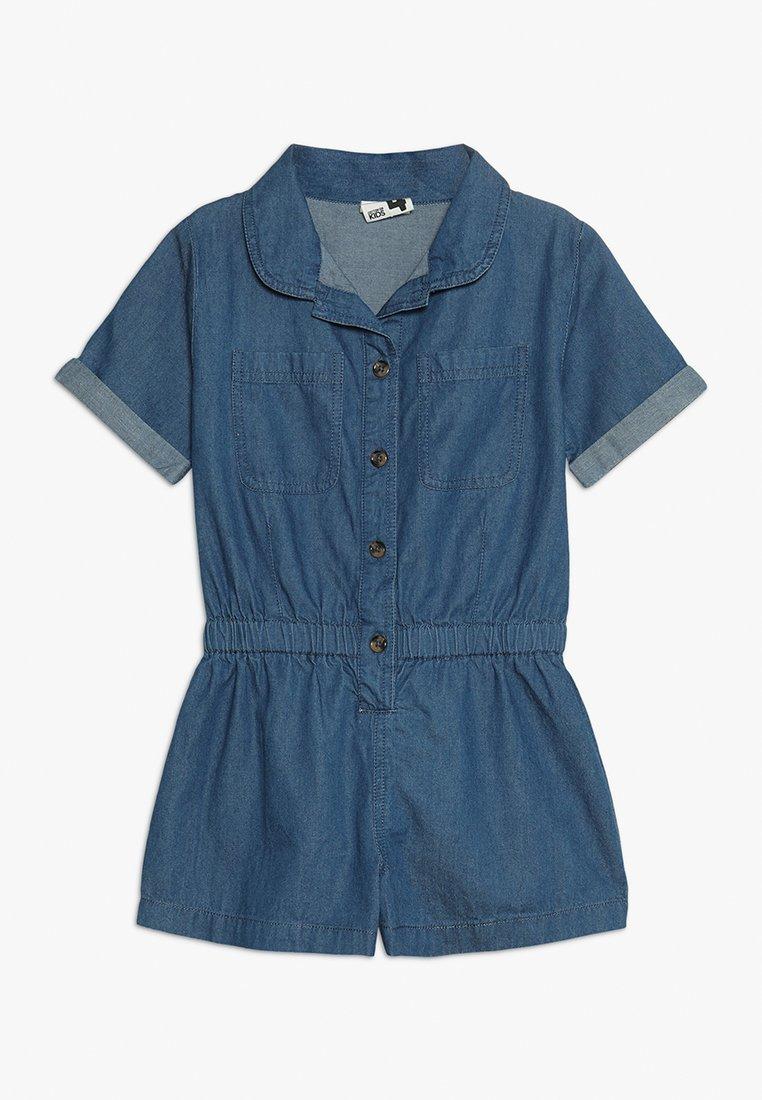 Cotton On - KIDS BONNIE PLAYSUIT - Overall / Jumpsuit /Buksedragter - blue denim