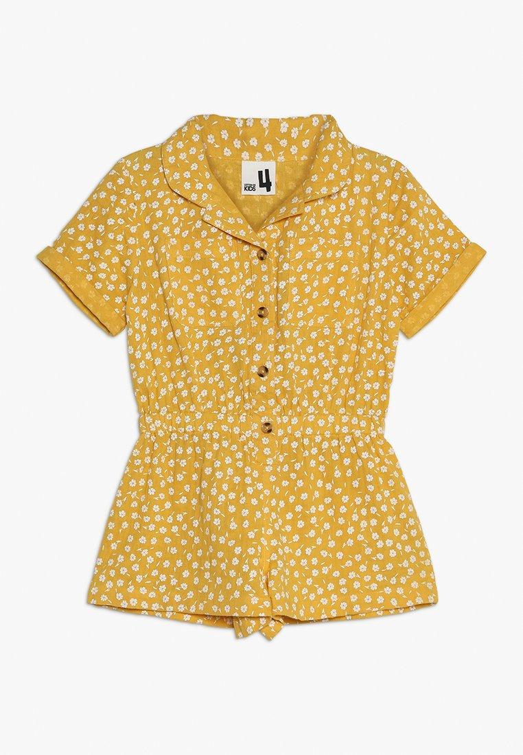 Cotton On - KIDS BONNIE - Jumpsuit - golden rod ditsy