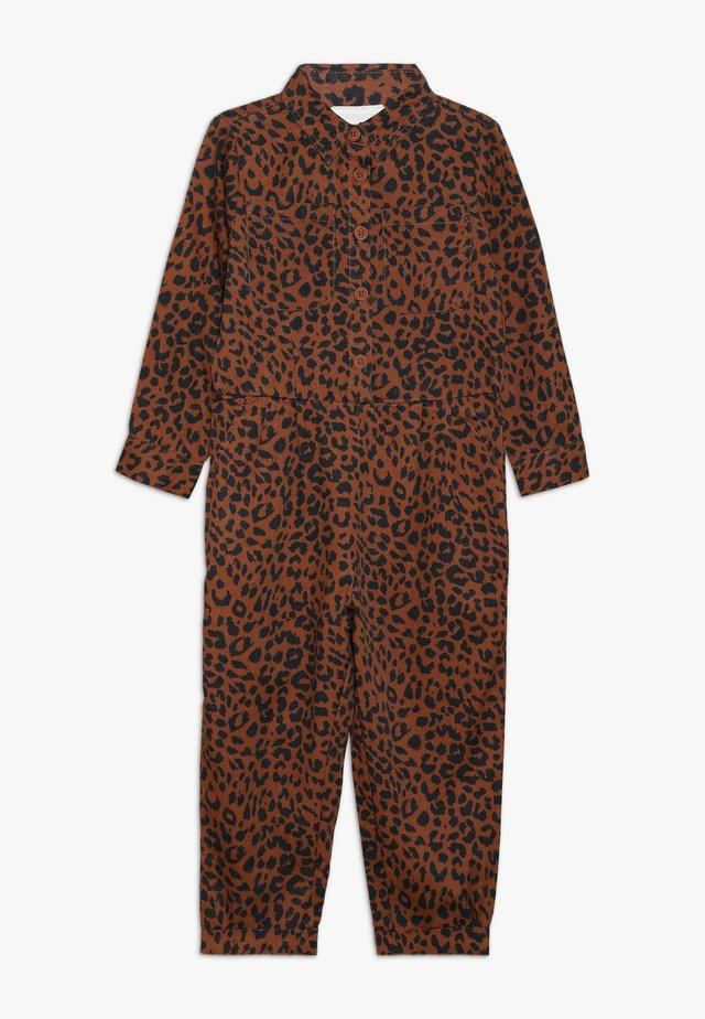 GIZELLE BOILER - Jumpsuit - amber brown