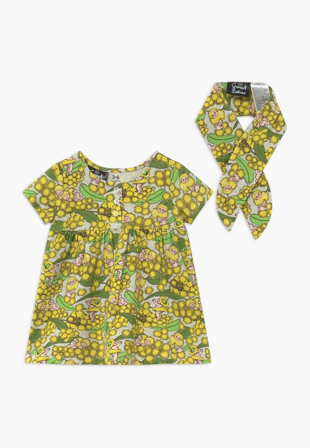 BUNDLE MILLY SHORT SLEEVE DRESS HEADBAND - Sukienka z dżerseju - multi-coloured