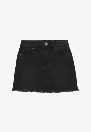 FINN SKIRT - Denimová sukně - washed black