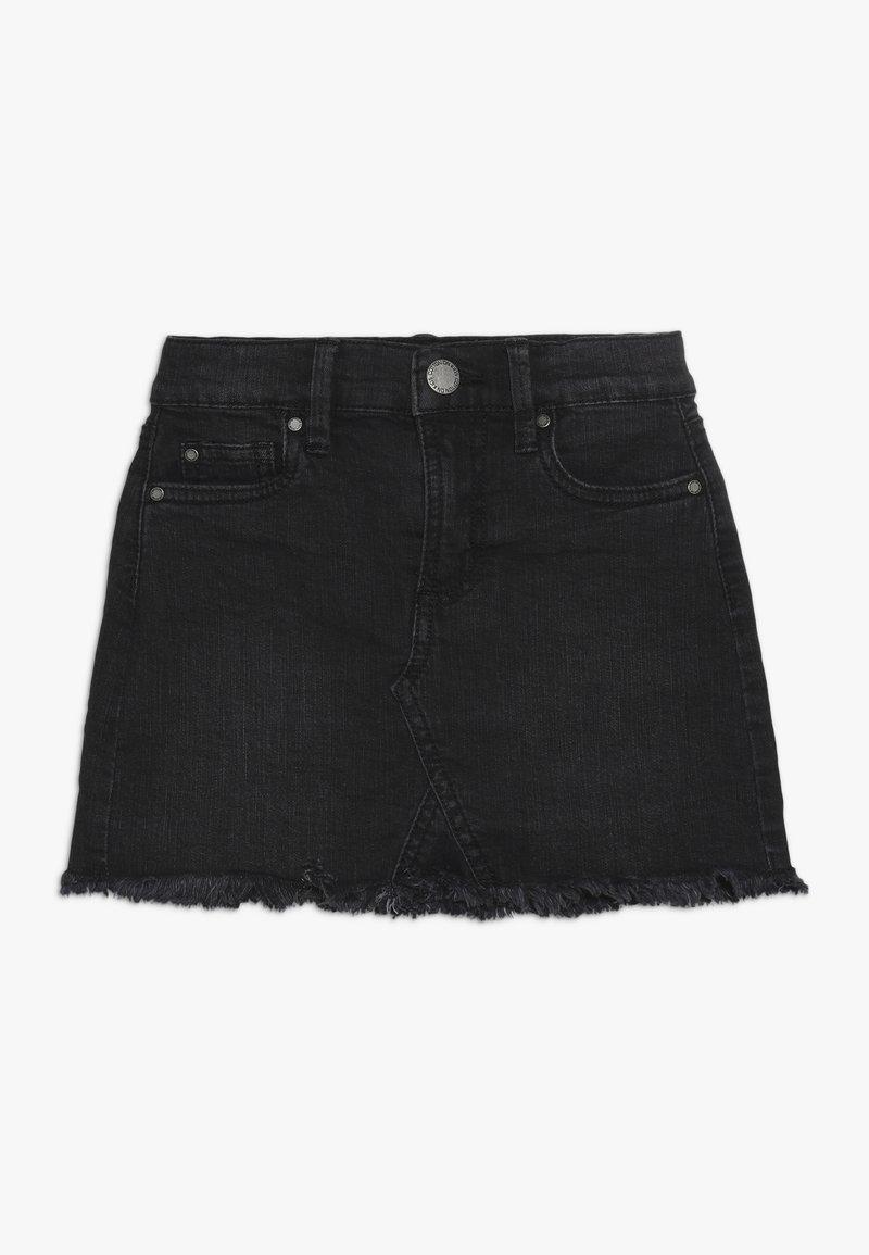 Cotton On - FINN SKIRT - Denimová sukně - washed black