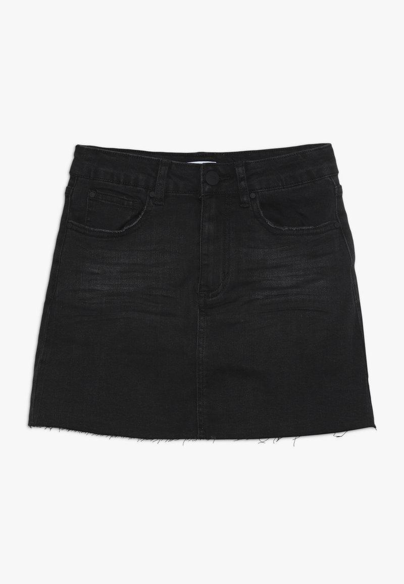 Cotton On - STRETCH SKIRT - Jeansnederdel/ cowboy nederdele - shadow
