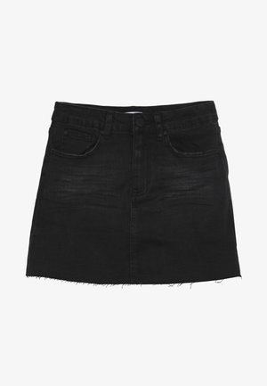 STRETCH SKIRT - Jupe en jean - shadow