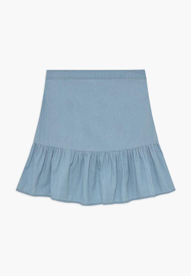 HARPER SKIRT - Mini skirt - chambray