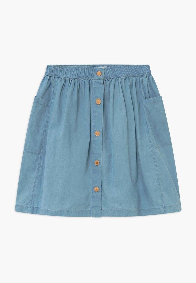 JOANIE  - A-line skirt - blue denim