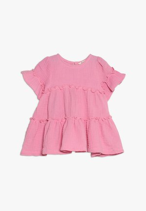 ABBY RUFFLE DRESS - Žerzejové šaty - cradle pink