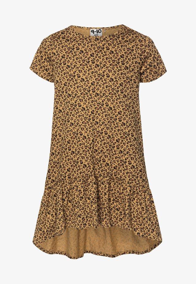 JOSS SHORT SLEEVE DRESS - Jerseykjoler - sand dune
