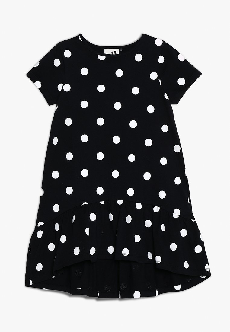 Cotton On - KIDS JOSS DRESS - Jersey dress - black/white