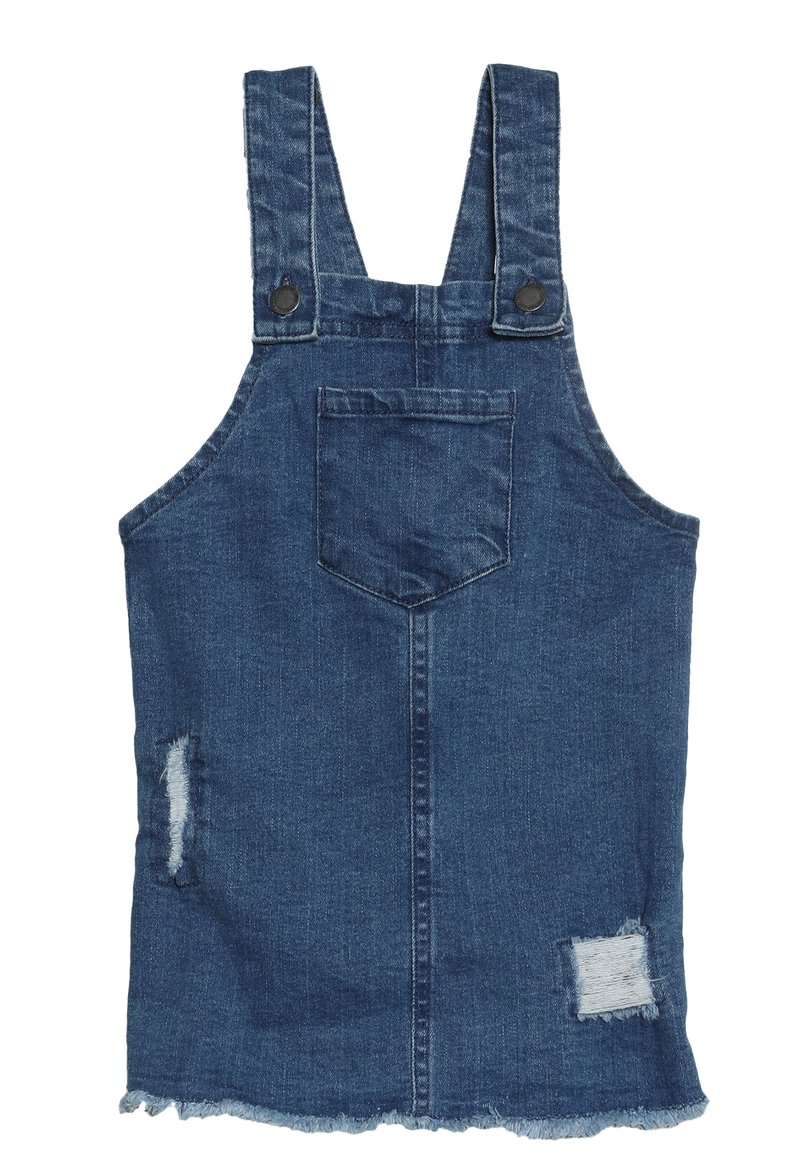 Cotton On - SUMMER PINAFORE - Jeansklänning - mid wash