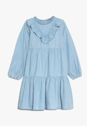 LAURA LONG SLEEVE DRESS - Sukienka jeansowa - blue denim
