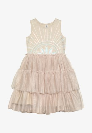 KIDS IRIS DRESS - Cocktail dress / Party dress - mottled beige