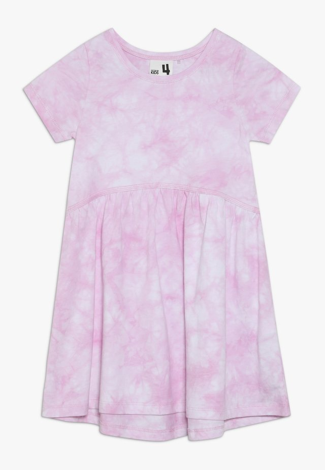 FREYA SHORT SLEEVE DRESS - Jerseykjoler - candy pink