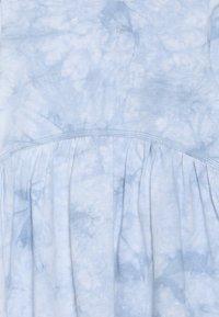 Cotton On - FREYA LONG SLEEVE DRESS - Jersey dress - dusty blue tie dye - 3