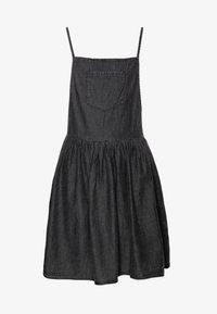 Cotton On - NICOLETTE SLEEVELESS DRESS - Spijkerjurk - black retro wash - 0