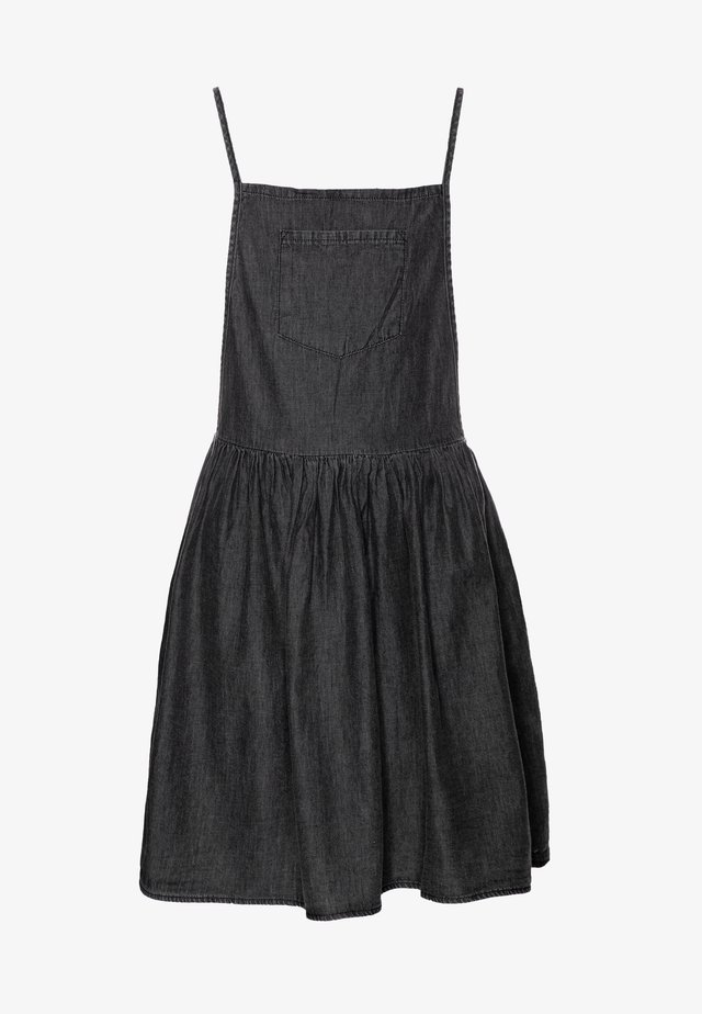 NICOLETTE SLEEVELESS DRESS - Denim dress - black retro wash