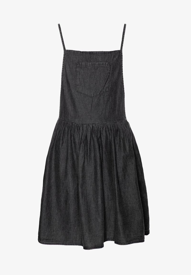 Cotton On - NICOLETTE SLEEVELESS DRESS - Spijkerjurk - black retro wash