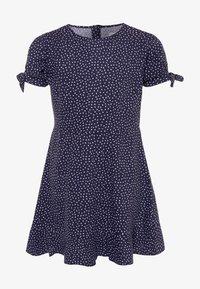 Cotton On - HANNA DRESS - Day dress - navy/white - 0