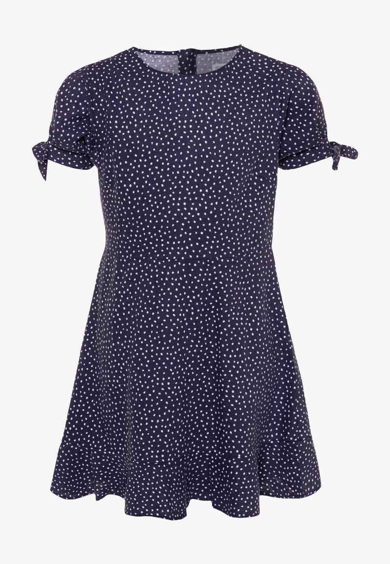 Cotton On - HANNA DRESS - Day dress - navy/white