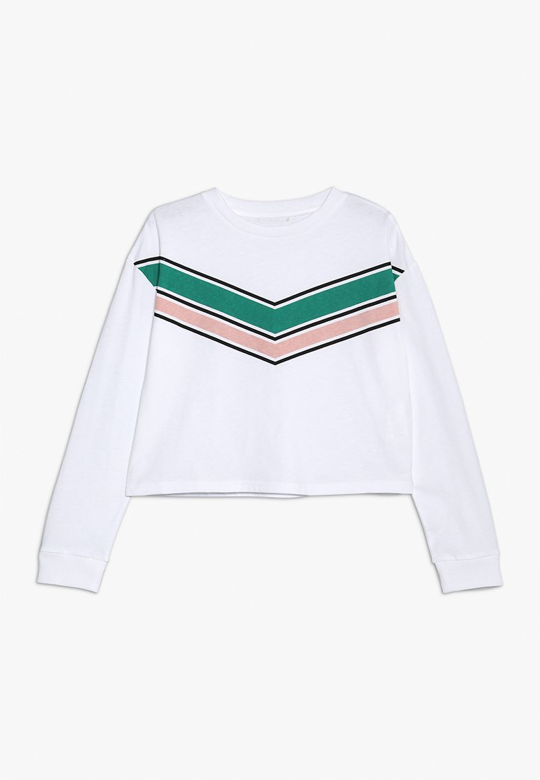 Cotton On - TEEN GIRLS TEE - Long sleeved top - white