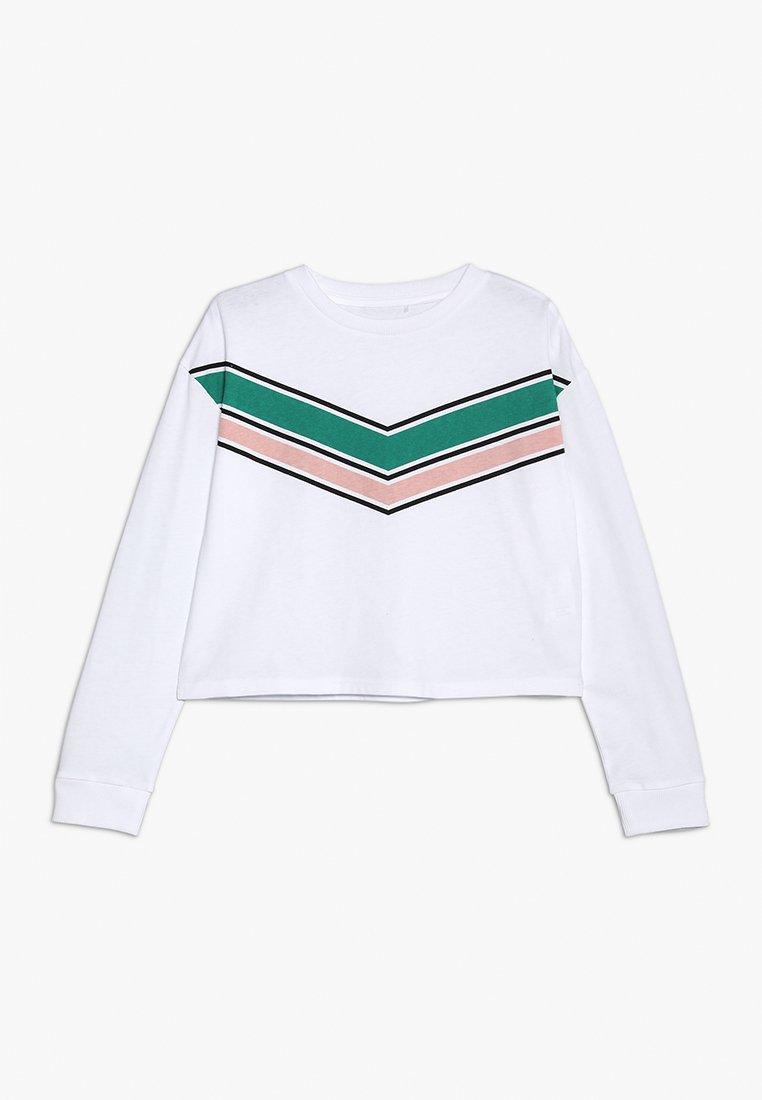Cotton On - TEEN GIRLS TEE - Langarmshirt - white