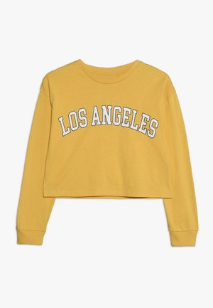TEEN GIRLS TEE - Long sleeved top - mimosa