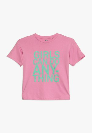 KIDS PENELOPE LOOSE FIT TEE - T-shirt print - fuschia