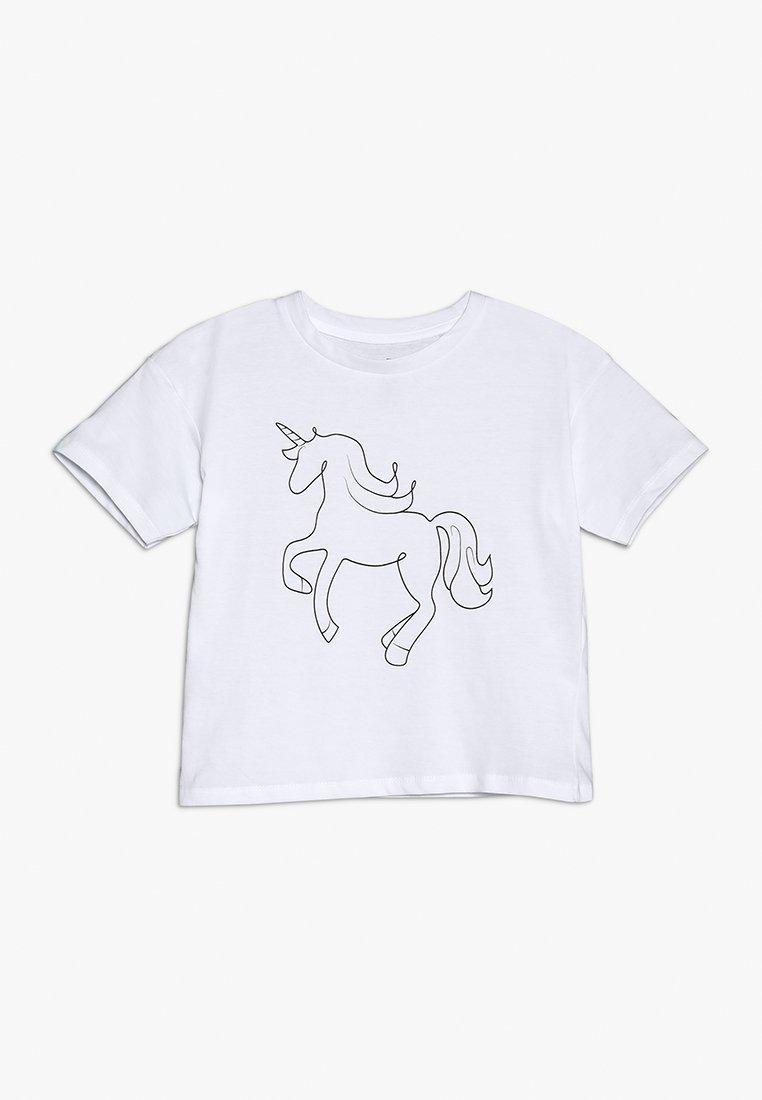 Cotton On - KIDS PENELOPE LOOSE FIT TEE - T-Shirt print - white