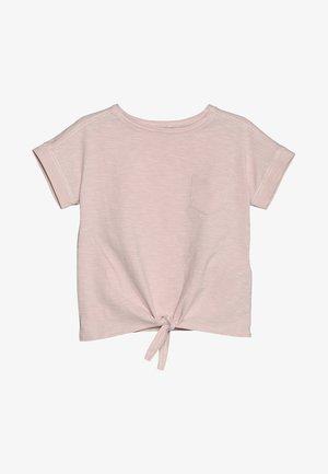 KIDS LUCIA TIE FRONT - T-shirt basique - cargo pink