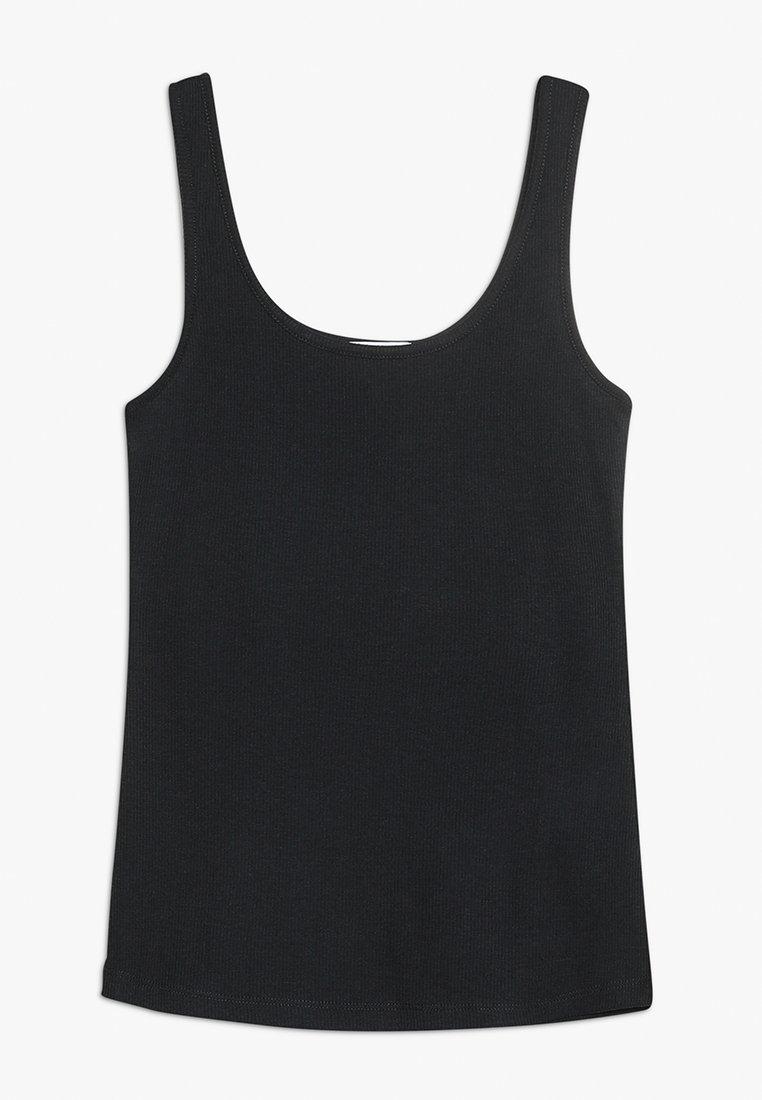 Cotton On - TEEN TANK - Toppe - black
