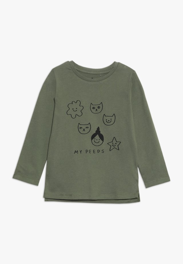 PENELOPE LONG SLEEVE TEE - Bluzka z długim rękawem - four leaf clover