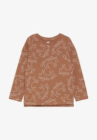 Cotton On - PENELOPE LONG SLEEVE TEE - Långärmad tröja - amber brown