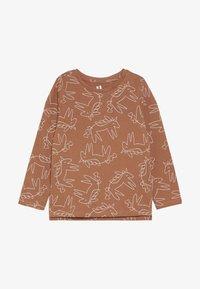 Cotton On - PENELOPE LONG SLEEVE TEE - Camiseta de manga larga - amber brown - 2