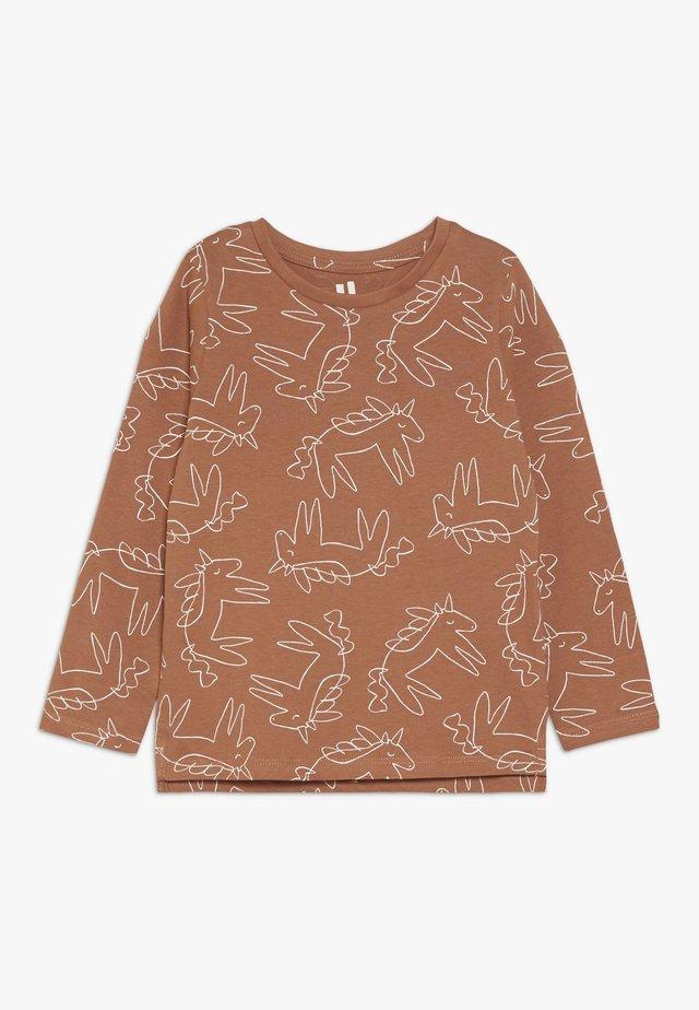 PENELOPE LONG SLEEVE TEE - Bluzka z długim rękawem - amber brown