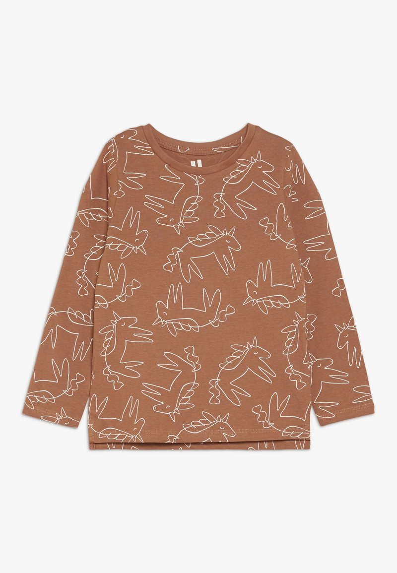 Cotton On - PENELOPE LONG SLEEVE TEE - Langærmede T-shirts - amber brown