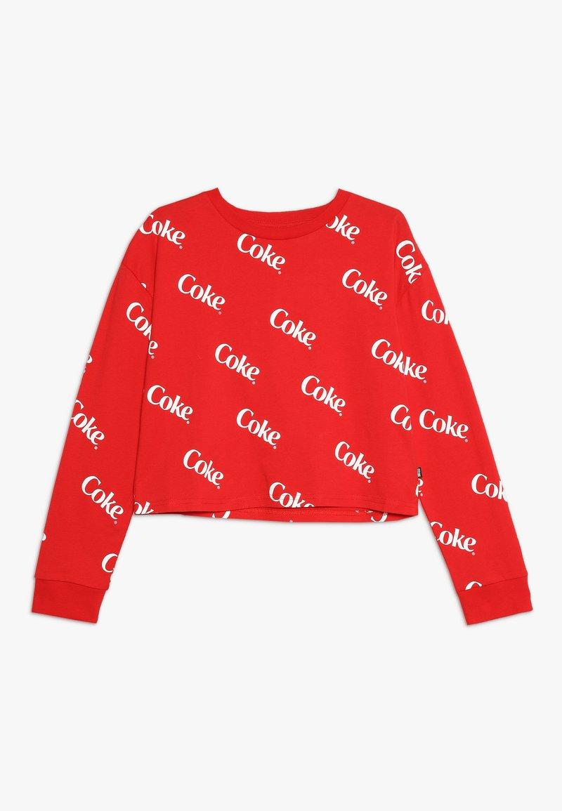 Cotton On - GIRLS LICENSE TEE - Topper langermet - racing red