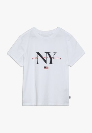 NEW YORK - T-shirt print - white