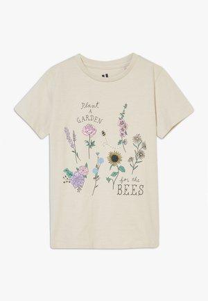 PENELOPE SHORT SLEEVE TEE - T-shirt imprimé - beige