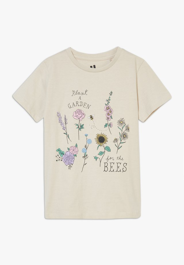 PENELOPE SHORT SLEEVE TEE - Camiseta estampada - beige